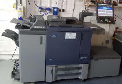 A KONICA MINOLTA Bizhub Pro C1060L Digital Colour Printing Machine,