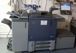 On-Line Auction of Litho & Digital Print Room Assets and A NISSAN Reach Truck