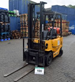 On-Line Timed Auction of a CATERPILLAR Forklift Truck, Pallet Racking and Warehouse Equipment