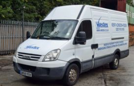 An IVECO Daily 35 S12 2.3 MWB Diesel Panel Van, Registration No. GN58 KOA, First Registered: 27.10.