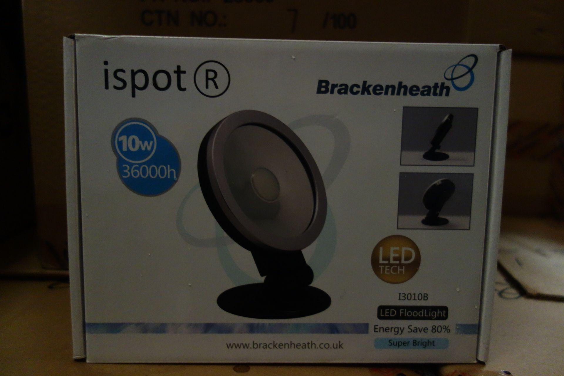 Lot 16 - 10 X Brakenheath Ispot 13010B 10W LED Flood Light