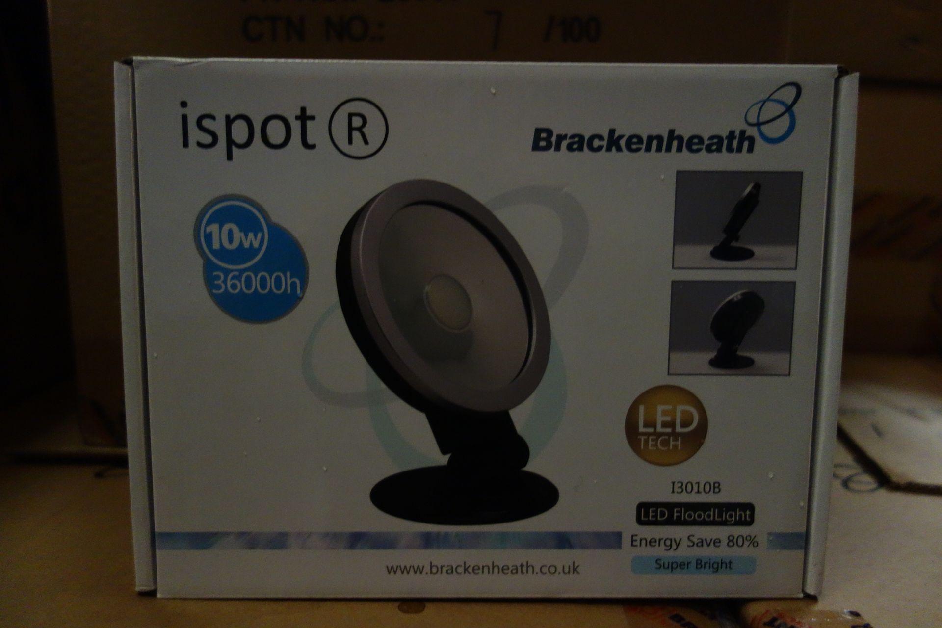 Lot 12 - 10 X Brakenheath Ispot 13010B 10W LED Flood Light
