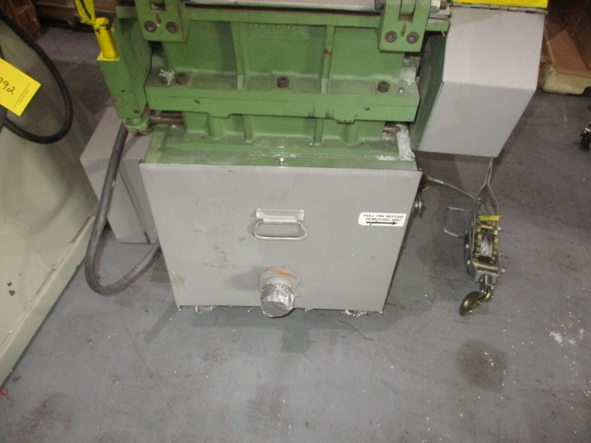 Lot 1017 - Rapid Granulator Scrap Grinder - Model: 512C; 5 HP; S/N: 30 5489
