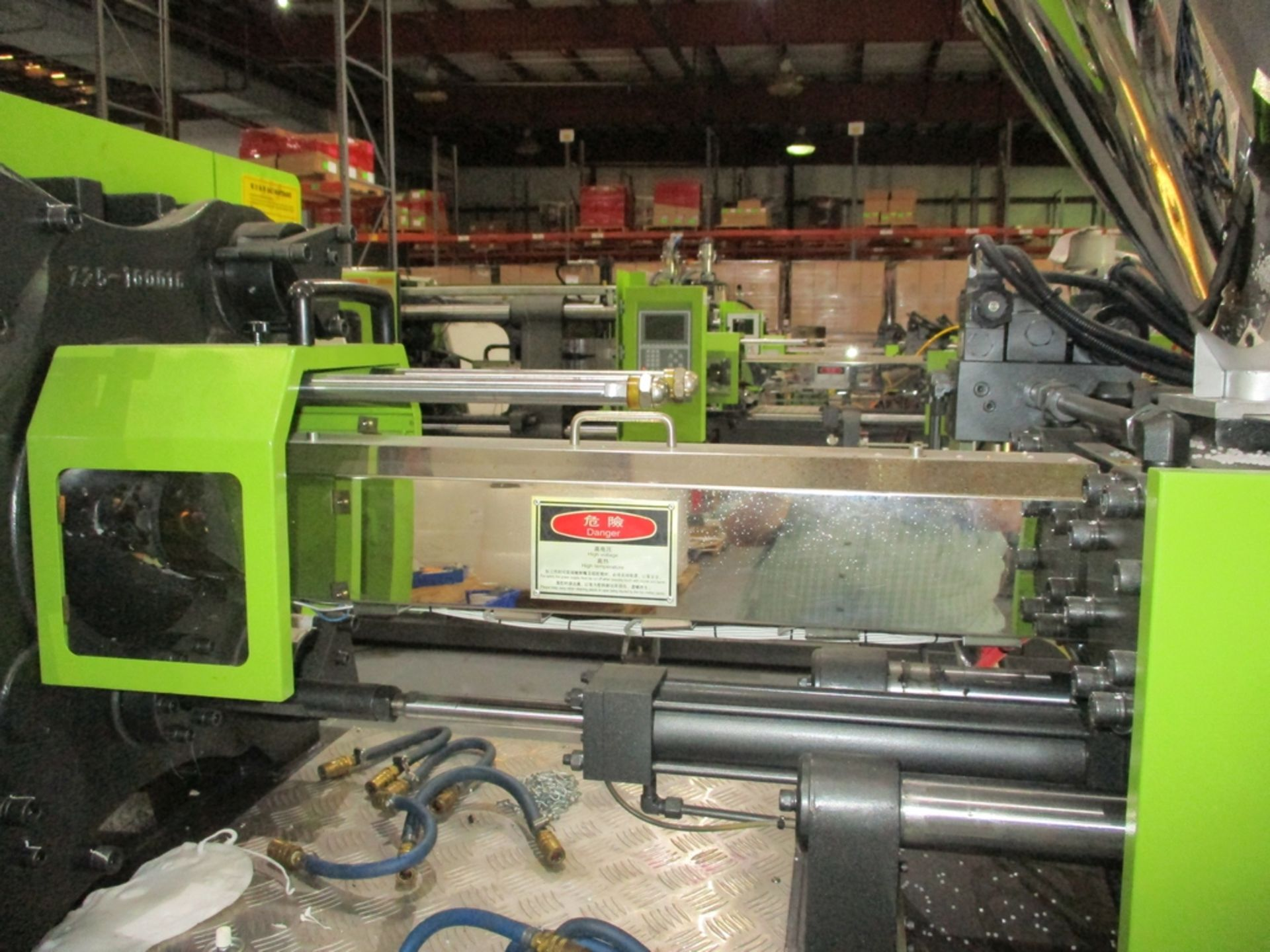 Lot 1006 - Powerjet BJ160-V6 160-Ton Injection Molding Machine - Variable Pump; Clamping Force: 160 Ton;