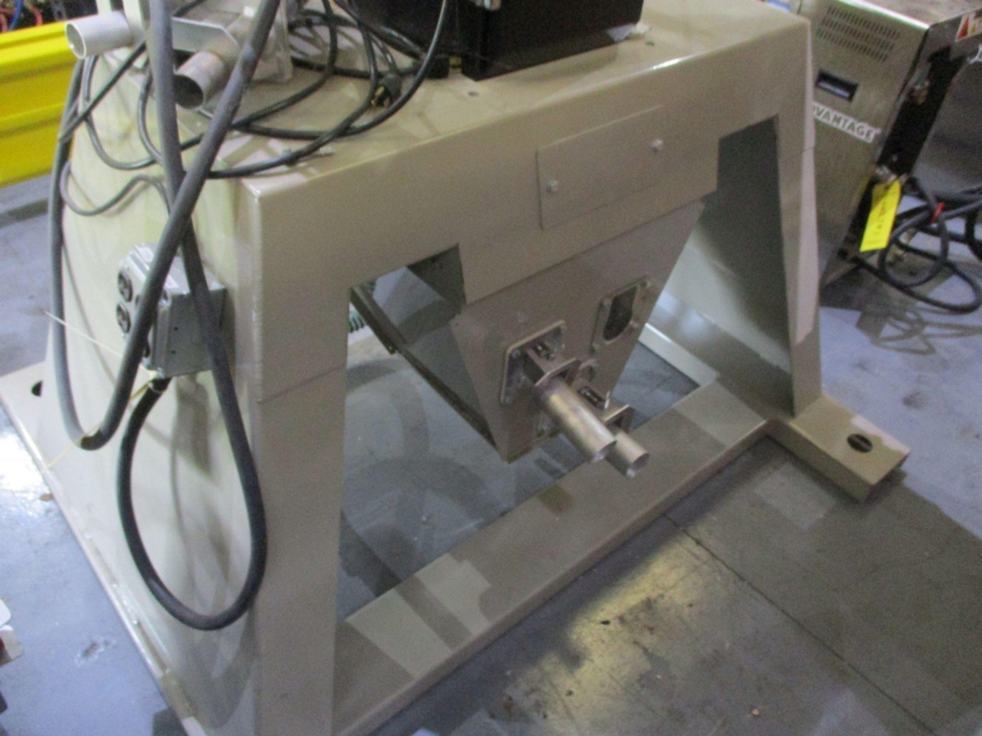 Lot 1023 - 2016 Conair True Blend Four Hopper Gravimetric Batch Blender Mounted on Stand - Model: TB 100;