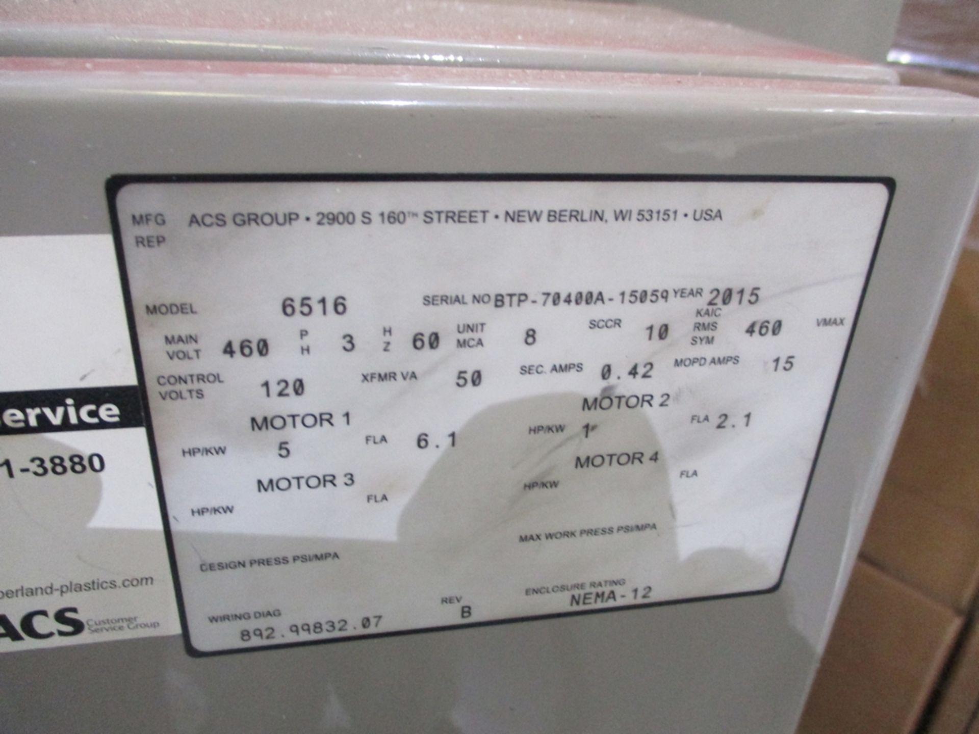 Lot 1015 - 2015 Cumberland 5 HP Scrap Grinder w/ Blower - Model: 6516; Includes Model A24F0 Blower and
