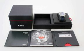 Armbanduhr Oris Aviation BC3 Advanced Day DateAutomatikwerk, Edelstahlgehäuse Ø 42 mm, Safirglas,