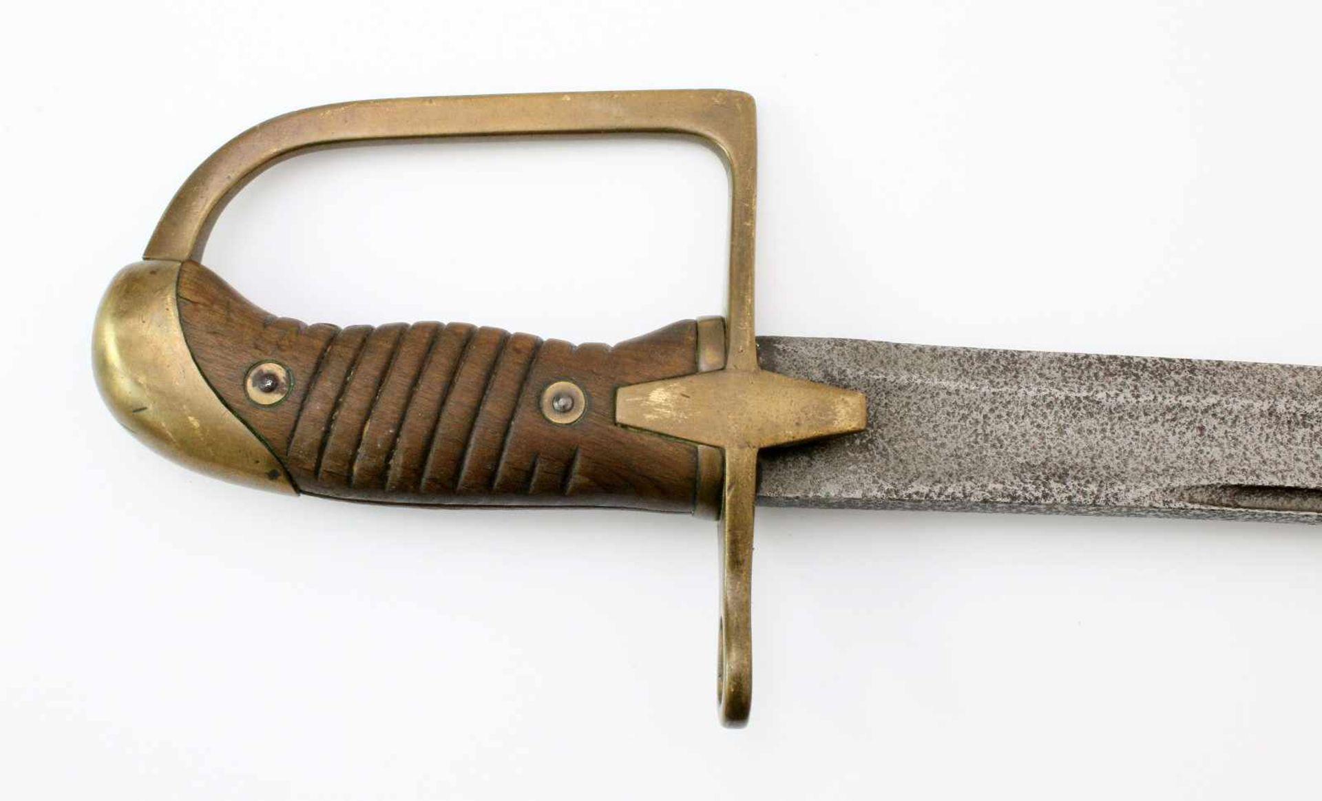 Polen - Säbel M1934 für Mannschaften der KavallerieLeicht geschwungene Klinge à la Montmorency. - Bild 4 aus 4