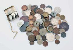 Fundgrube Münzen - Deutsches Reich und Europa - 19. / 20. JahrhundertViele Silbermünzen, u.a.