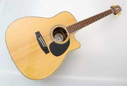 Westerngitarre Takamine EG-334c mit TonabnehmerIn sehr gutem Zustand, geringe Gebrauchsspuren,
