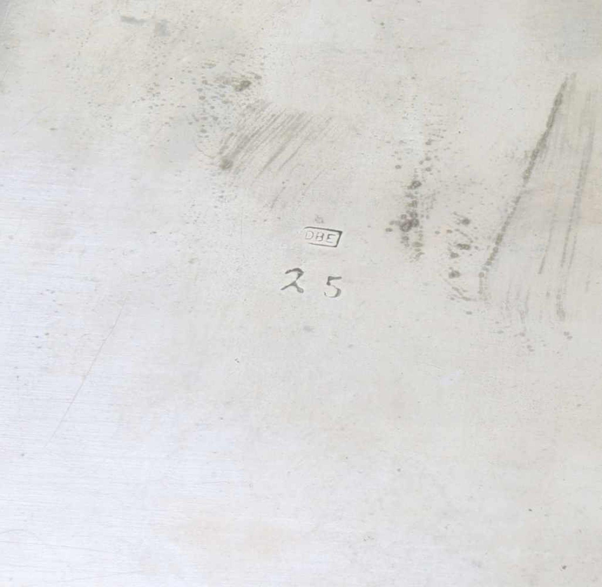 Versilberter, englischer Sektkühler und Deckeldose um 1900Sektkühler Hersteller Potter, Sheffield, - Bild 4 aus 8
