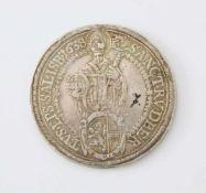 Salzburg Erzbistum Taler 1638 - Paris Graf von LodronSilbermünze; Gew.: 28,85 g.