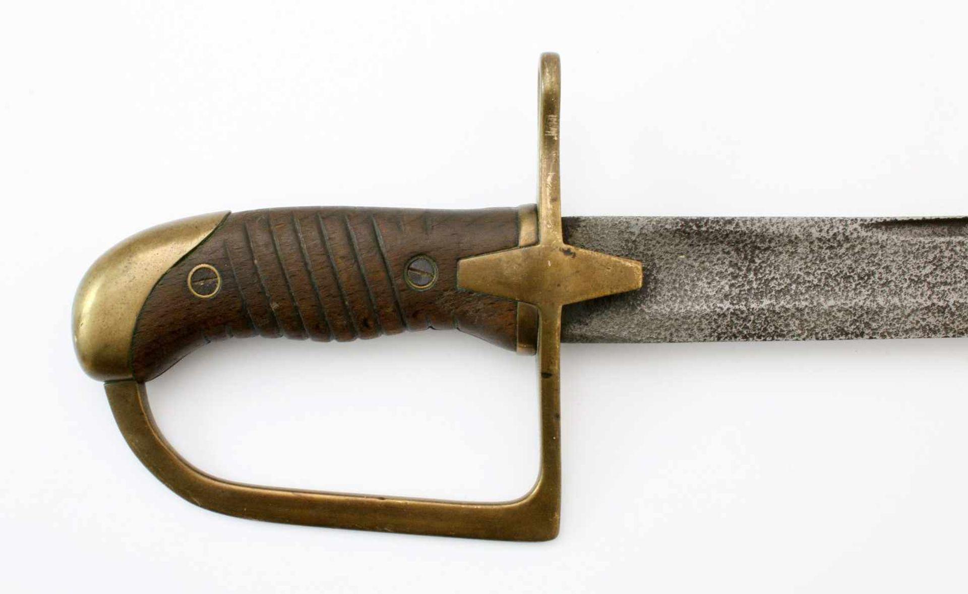 Polen - Säbel M1934 für Mannschaften der KavallerieLeicht geschwungene Klinge à la Montmorency. - Bild 3 aus 4