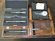 Mitutoyo and NSK Multi-Mike Measuring Gauges and a Dial Caliper (Located in Levittown, PA Facility)