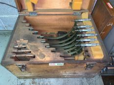 Box Set of Various Size Micrometers (Located in Levittown, PA Facility)