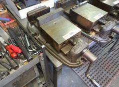 """Bridgeport 6"""" Machine Vise (Located in Levittown, PA Facility)"""