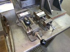 """Lot with 4"""" Vise and 3"""" Vise (Located in Levittown, PA Facility)"""