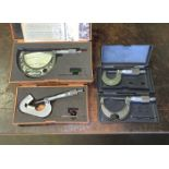 Lot with (4) Various Micrometers (Located in Levittown, PA Facility)