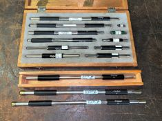 """Set of Mitutoyo Standards from 0.9999"""" to 14"""" Capacity (Located in Levittown, PA Facility)"""