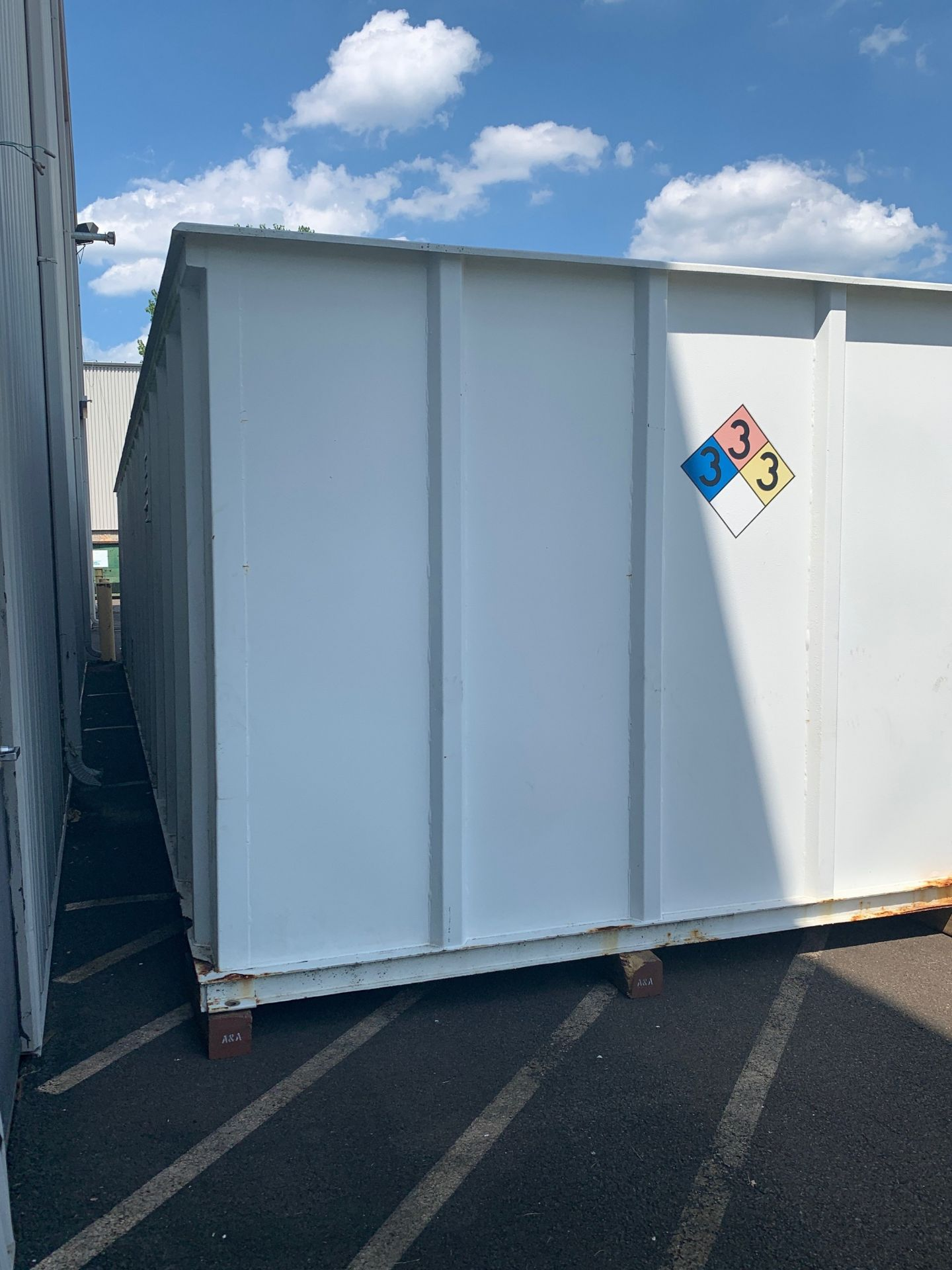 """Lot 101 - Chemical Storage Container, Outside Dimensions 45'-4""""L x 11'-3""""W x 8'-8""""T (Located in Morrisville,"""