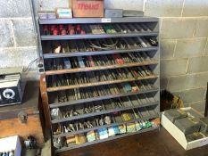 Tool Storage Rack, 8-Shelf with Contents of Tooling (Located in Levittown, PA Facility)
