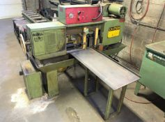 DoAll Mdl. C-5A Automatic Horizontal Band Saw, Hydraulic Clamping, 10' Conveyor (Located in