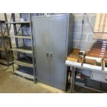 """Metal 2-Door Storage Cabinet, 36"""" x 18"""" x 72""""T (Located in Levittown, PA Facility)"""