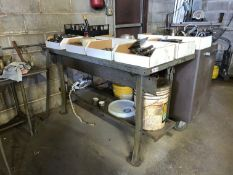 """Metal Desk, Single Drawer, 60""""L x 28""""W (Contents NOT Included) (Located in Levittown, PA Facility)"""
