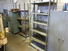"""Lot with (3) Metal Shelving Units 36""""W x 12""""D x 87""""T (Located in Levittown, PA Facility)"""