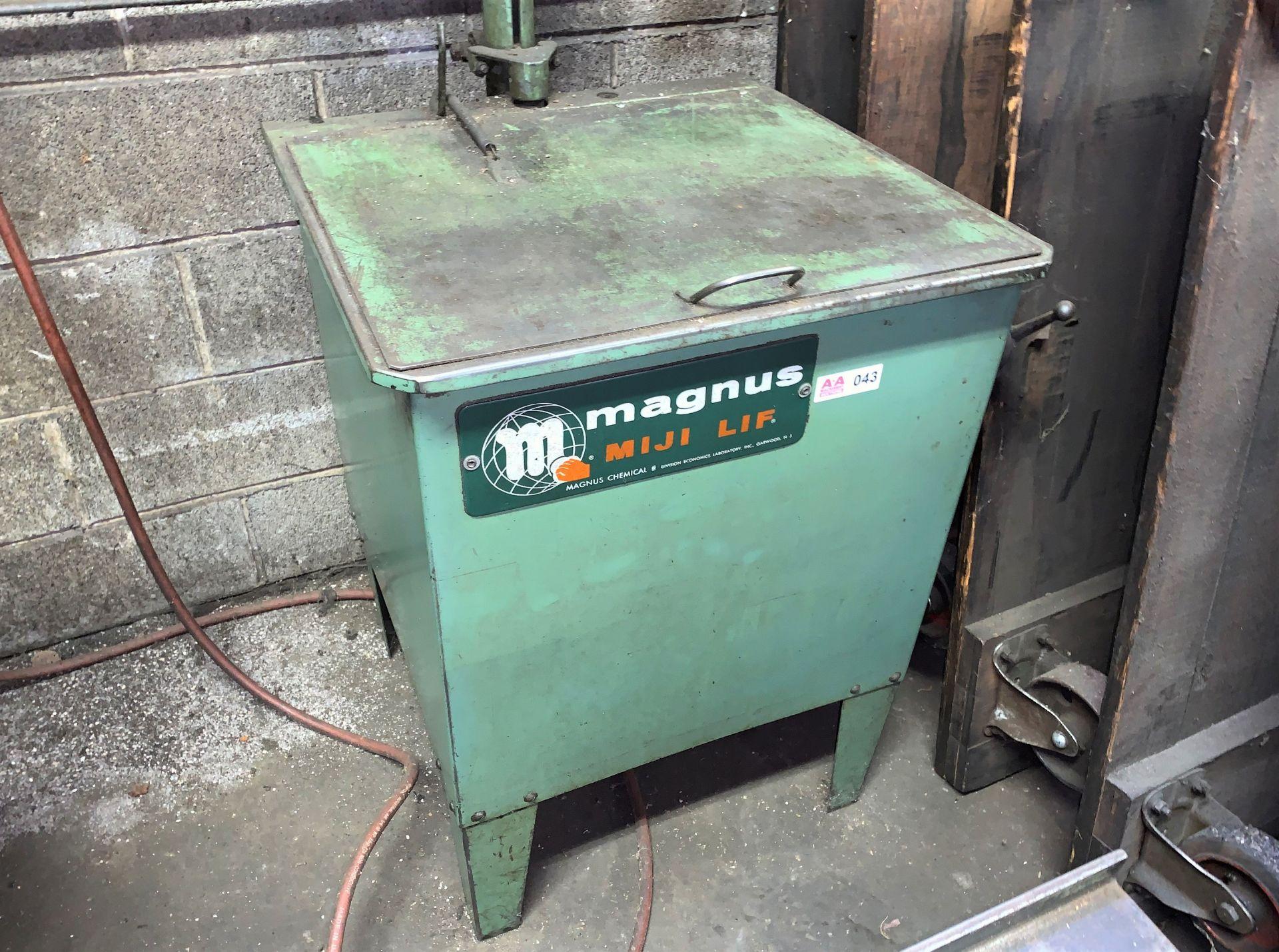 "Lot 43 - Magnus Miji Lift Parts Washer, Internal Chamber 22""W x 20""L x 16""Deep (Located in Levittown, PA"