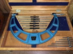 Fowler Micrometer with Standards