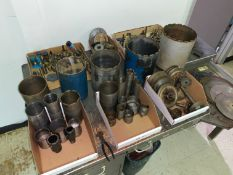 Large Assortment of Diamond Tipped Tooling