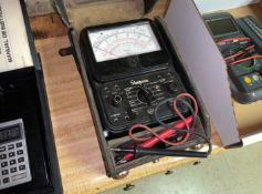 Simpson VOM Meter with Case