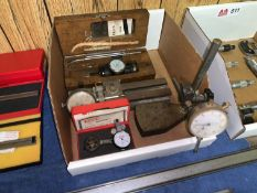 Box of Various Gauges and Indicators
