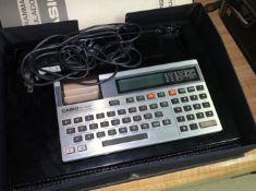 Casio Programmable Calculator