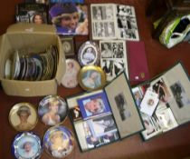 Huge quantity of Royal Family memorabilia to include books, 4 albums filled with reproduction photos