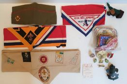 Good collection of mid 1960s Boy Scouts of America memorabilia (Qty) to include badges, patches,
