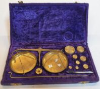 Cased set of Scales and weights