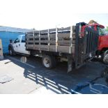 2015 Ford F450 Stake Bed Truck with Lift Gate, Lic. 22363D2, VIN: 1FDOW4GT5FEB34130, Mileage 53,358