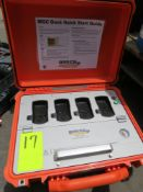 MGC DOCK GAS CLIP CALIBRATION STATION WITH CASE
