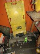 PITTSBURG 8K LBS CAP. TRANSMISSION FLOOR JACK & CAT CREEPER UNDER VEHICLE MECHANICS TOOL