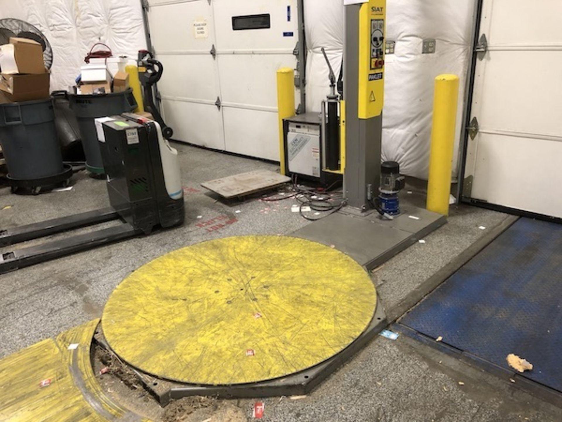 Lot 20 - Siat Automatic Stretch Pallet Wrapper