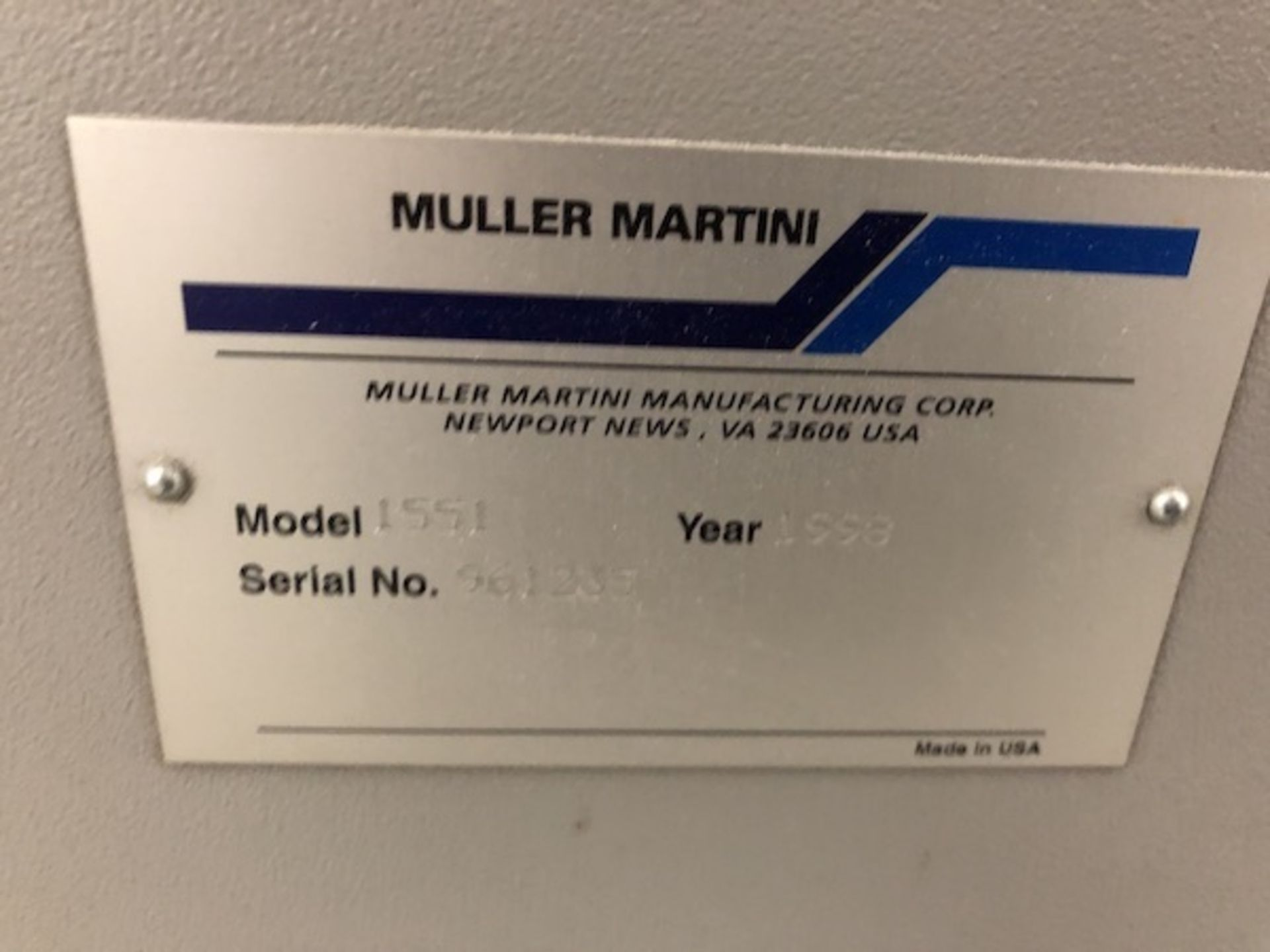 Lot 8 - Muller Martini Presto Saddle Stitcher