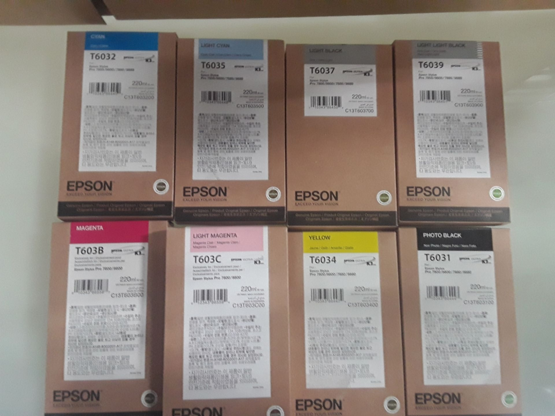 Lot 94 - Epson Ink Jet Cartridges