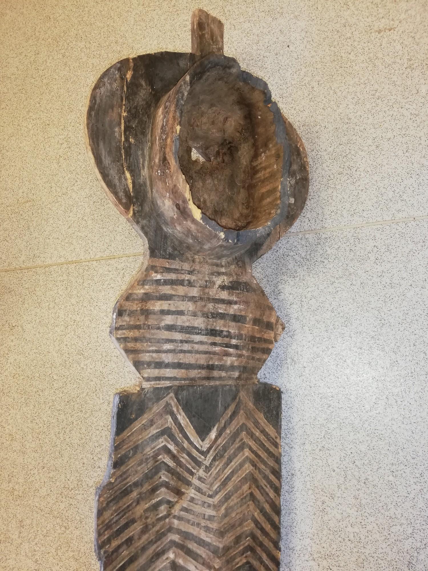 """Lot 255 - Bwa plank mask -64"""""""