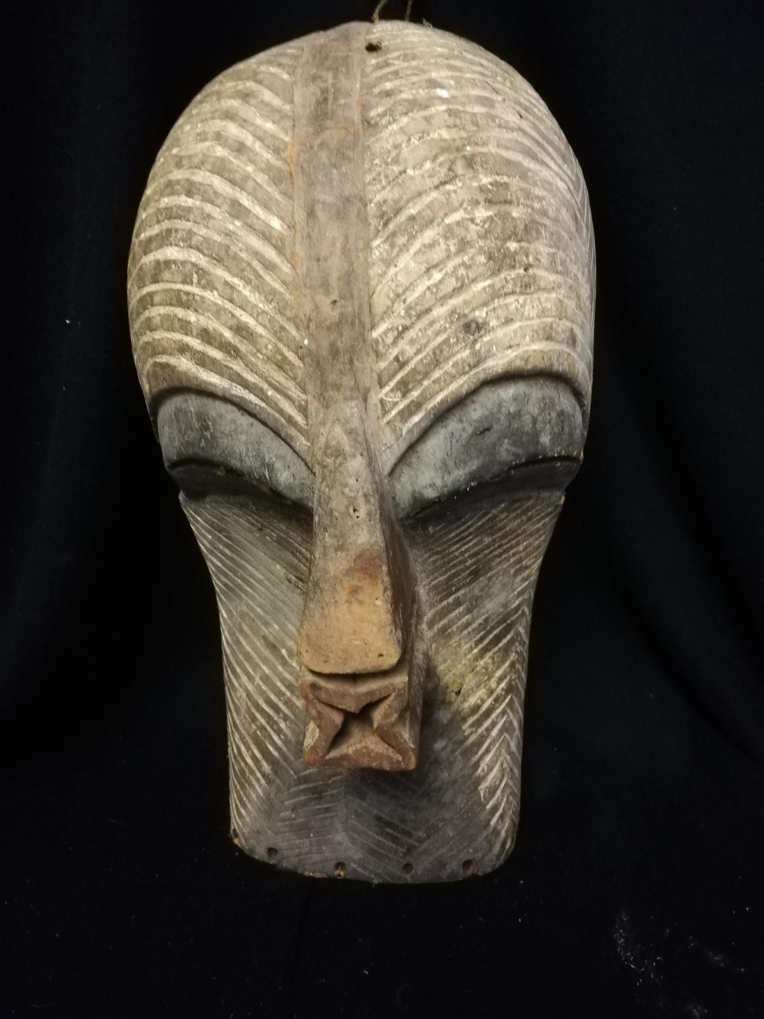 """Lot 259 - Songye kifwebe mask - 16"""" x 7"""""""