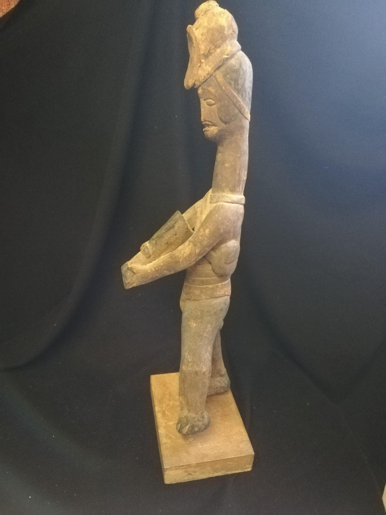 Lot 249 - Group of 3 African figures