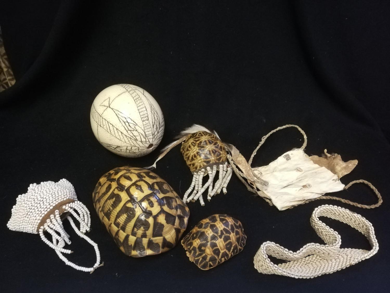 Lot 250 - Group of Kalahari bushmen items - 7 items
