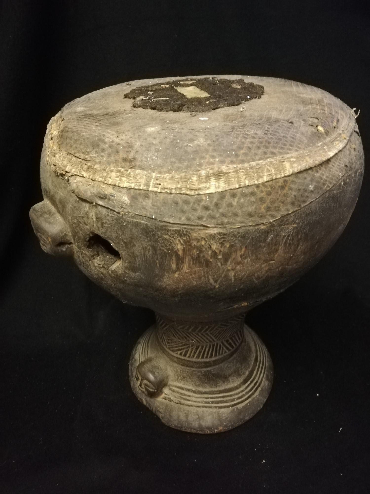 """Lot 263 - Congo drum - 13½"""""""