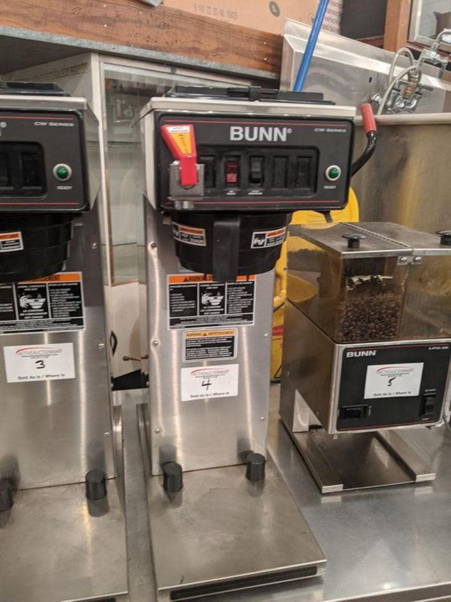 Lot 4 - Bunn Coffee Brewer